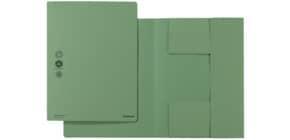 Dreiflügelmappe A4 grün Produktbild