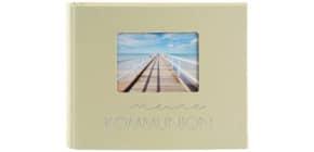 Fotospiralbuch Kommunion lindgrün Produktbild