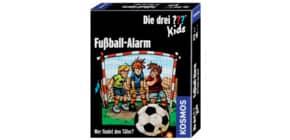 Kartenspiel Die drei ??? Kids KOSMOS 741518 Fußball-Alarm Produktbild