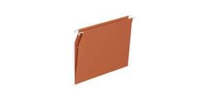 Cartelle sospese per armadio ELBA Defi interasse 33 cm arancione fondo V Conf. 25 pezzi  400126814 Immagine del prodotto