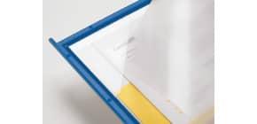 Pannello per leggìo da tavolo Q-Connect Quickfind blu conf. 10 pezzi - KF04602 Immagine del prodotto