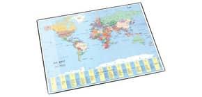Schreibunterlage Weltkarte LÄUFER 45351 40x53cm Produktbild