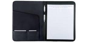 Schreibmappe Kunstl. schwarz Produktbild