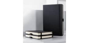 Notizbuch A5 blanko schwarz ProduktbildStammartikelabbildungM