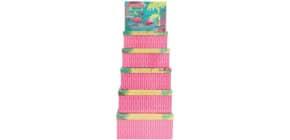 Geschenkkarton Flamingo GD390-AT14059/62   6tlg Flach Dess Produktbild