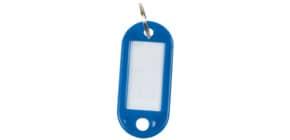 Schlüsselanhänger 10ST d.blau Produktbild