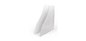Portariviste ARDA Mydesk polistirolo bianco 7,5x26,6x27,8 cm 7118B Immagine del prodotto