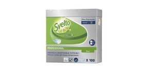 Detergente per lavastoviglie 3 in 1 Svelto ECO Professional 100 pastiglie 20 bianco  conf. 100 pezzi - 100904028 Immagine del prodotto