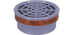 Kit di 2 filtri A2 per semi-maschere M6200 e M6400 Jupiter grigio - M6000EA2R Immagine del prodotto