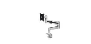 """Braccio porta monitor per 1 schermo max 27"""" DURABLE argento metallizzato 345x470x120 mm - 5083-23 Immagine del prodotto"""