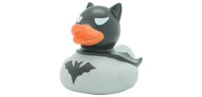 Badeente Dark Duck grau LILALU 2023 8.5cm Produktbild