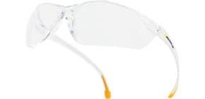 Occhiali Meya Delta Plus monoblocco policarbonato - terminali in PVC antiscivolo trasparente - MEIAIN Immagine del prodotto