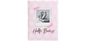 Babytagebuch Hallo Baby rosa Produktbild
