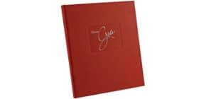 Gästebuch  rot Produktbild