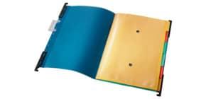 Hängemappe 6-tlg. A4 blau Produktbild