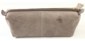 Schüttelpennal Leder taupe Produktbild