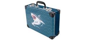 Handarbeitskoffer Angry Shark Produktbild