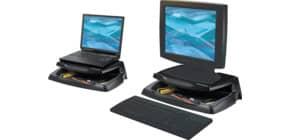 Supporto per monitor Q-Connect 37x23,5 cm nero KF04553 Immagine del prodotto