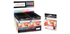 Geburtstagskerze farbige Flamme WONDERCANDLE 30084/DIS024 12ST Produktbild