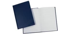 Notizbuch liniert blau Produktbild