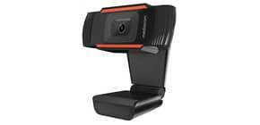 Webcam Mediacom M350 HD 720P nero - risoluzione 1280x720 px - USB 2.0 compatibile Windows e Mac OS - M-WEA350 Immagine del prodotto