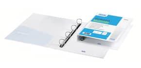 Raccoglitore personalizzabile FAVORIT Europa 27x32 cm 4 anelli a D Ø 30 mm bianco - 100460463 Immagine del prodotto