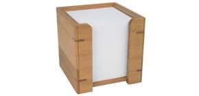 Zettelbox gefüllt Bambus Produktbild