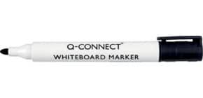 Marcatore per lavagna bianca Q-Connect punta tonda 2-3 mm nero KF26035 Immagine del prodotto