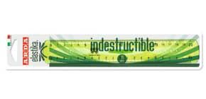 Doppio decimetro ARDA Linea Elastika plastica verde trasparente 20 cm EL20P Immagine del prodotto