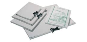 Zeichenmappe mit Band grau Produktbild