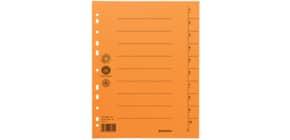 Trennblatt  A4 orange Produktbild