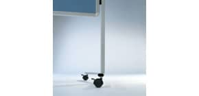 Moderationstafel blaugrau 120x150 cm LEGAMASTER 7-2042 00 Filzbezug Produktbild