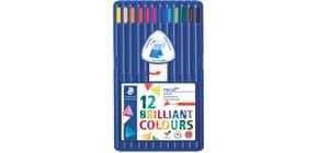 Farbstiftetui 12ST sort. Produktbild