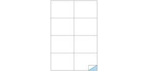 Etichette bianche MARKIN permanenti 105x74,25 mm senza margine conf. da 800 etichette - X210C512 Immagine del prodotto