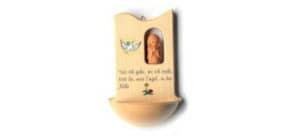 Weihwasserkessel Engel Holz Produktbild
