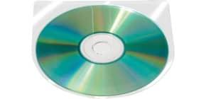 CD/DVD-Hülle selbstklebend 100ST Produktbild