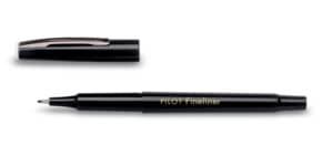 Fineliner F schwarz Produktbild