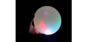 Fun Ballon LED sort. BLA021 Blasenball Produktbild