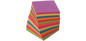 Zettelbox Nachfüllung 9x9cm färbig Produktbild