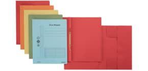 Combamappe A4 Karton blau ProduktbildStammartikelabbildungM