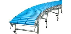 Scheren-Rollenbahnen, Bahnbreite 600 mm, bis zu 9,6m lang, 6 Stützen Produktbild