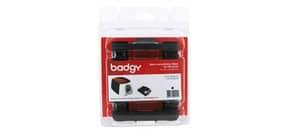 Nastro di stampa per stampante Evolis Badgy 500 stampe/nastro monocolore nero CBGR0500K Immagine del prodotto