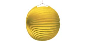 Lampion Ballon gelb 1522 D25 cm Produktbild