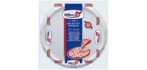 Stoviglie monouso Dopla piatti pizza Ø 320 polistirene bianco conf.10 - 01085 Immagine del prodotto
