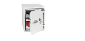 Cassaforte ignifuga Phoenix bianco - Ral 9003 con serratura a chiave doppia mappa. 25 lt. - FS 1282 K Immagine del prodotto