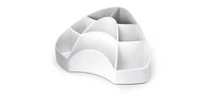 Portaoggetti da scrivania ARDA Multipot Mydesk polistirene bianco 8 scomparti 18,5x12,3x9 cm - 7121B Immagine del prodotto