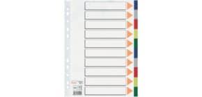 Farbregister 10tl PP A4 grau Produktbild
