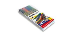 Marcatore permanente Pentel N850 punta conica 4,5 mm assortiti 4 pezzi - 0100861 Immagine del prodotto