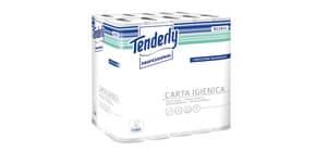 Carta igienica Tenderly salvaspazio 2 veli 30 rotoli da 160 strappi - 811911U Immagine del prodotto