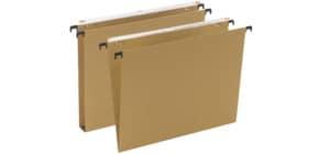 Cartelle sospese orizzontali per cassetti AVANA 39 cm fondo a V avana Conf. 50 pezzi - 060/390 Beta -B1 Immagine del prodotto